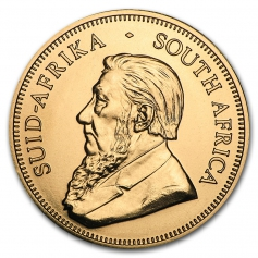 "Золотая инвестиционная монета ЮАР ""Крюгерранд"" Krugerrand gold 31,1 грамм 1oz"